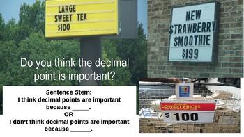 Decimals Powerpoint