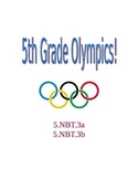 Decimals Practice- Fifth Grade Olympics!