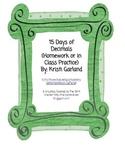 Decimals Practice Pages (Tenths, Hundredths, Thousandths,
