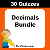 Decimals Quizzes [Bundle]