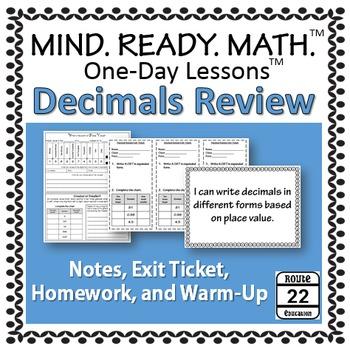 Decimals Review