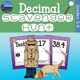 Decimals Game | Decimals Scavenger Hunt