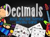 Decimals Review Game