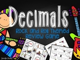 Decimals Review Game