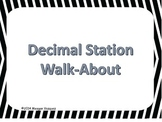 Decimals Review Walk-About Activity
