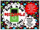 QR - Decimals - Rock 'n Roll with QR Codes
