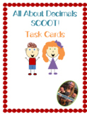 Decimals Scoot! 20 Different Task Cards