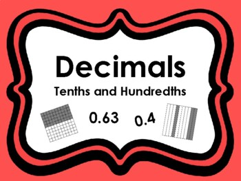 Decimals Task Cards (Set of 80 cards aligned to 4.2G & 4.2E)