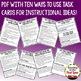 Decimals Task Cards for Test Prep