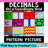 "Decimals: Tenths & Hundredths Activity - ""Pattern Picture"": 4th Grade 4.NF.C.6"