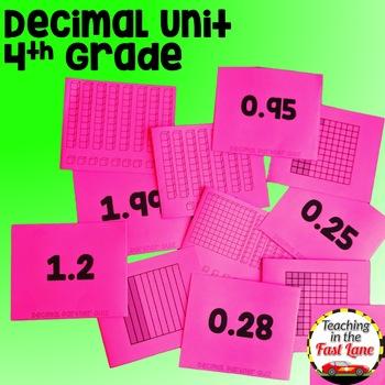 Decimals Unit 4th Grade