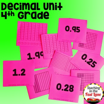 Decimals Unit with Lesson Plans