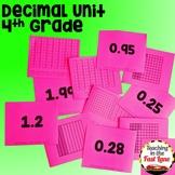 Decimals Unit with Lesson Plans