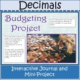 Decimals Unit Mini-Project Distance Learning Google Slides