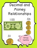 Decimals- Using Pennies to Introduce Decimals