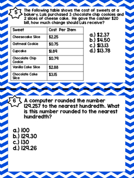 Decimals Word Problems