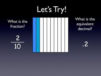 Decimals and Fractions 1