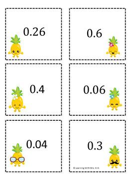 Decimals and Fractions 2 Games
