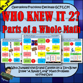 5NBT 5NF Decimals and Fractions Activity