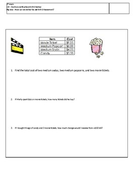 Decimals and Fractions Review