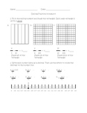 Decimals and Fractions Worksheet Compilation