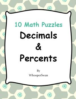 Decimals and Percents Puzzles