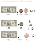 Decimals and Place Value: Using Money, Pictures, and Words