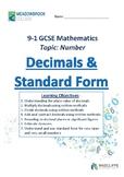 Decimals and Standard Form