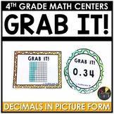 Decimals in Picture Form - Decimals Math Game