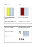 Decimals: tenths and hundredths