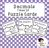 Decimals times 10