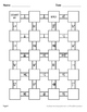 Decimals to Fractions Maze