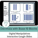 Decimals with Base-10 Blocks | Interactive Digital Visual Models