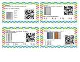 Decimals with Models QR Task Cards