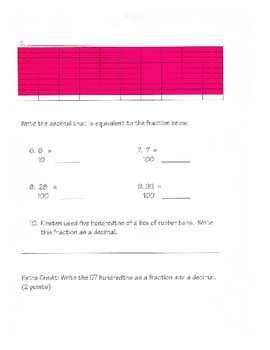 Decimals with Pictures and Models- By: Ms. Bisker