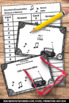 Converting Fractions to Decimals Task Cards BUNDLE 4th Grade Math Review