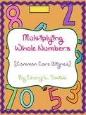 Decimals~Value of Numbers~Multiplying Whole Numbers~Common