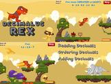 Decimalus Rex - Math Decimals Computer Game (Playable at R