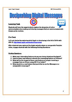 Deciphering Digital Messages