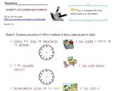 Decir La Hora con Sam el Gato_Listening Activities and Tel