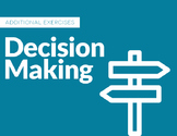 Decision Making Activities with Rubric