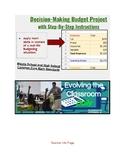 Budget Spreadsheet Project (personal finance & math skills)