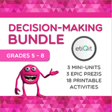 Decision-Making Bundle: Social Pressure, Risk-Taking & Healthy Choices