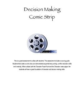 Decision Making Comic Strip Creation