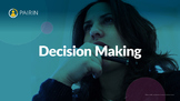 Decision Making Lesson, Notes, and Handouts