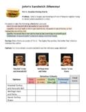 Decision-Making Matrix and CER Activity (John's Sandwich D