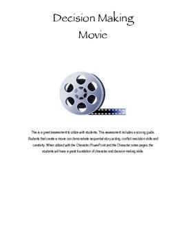Decision Making Movie Creator