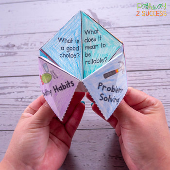 Decision-Making Skills Fortune Teller Craft