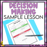 Decision Making Strategies Lesson