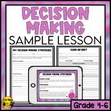 Decision Making Strategies Lesson